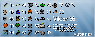Old School Stat Signature by VK Soft